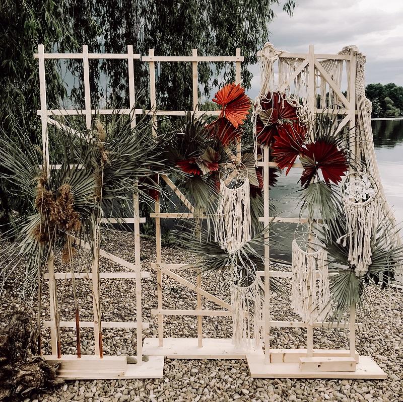 fotocorner cu flori cununie nunta botez bucuresti